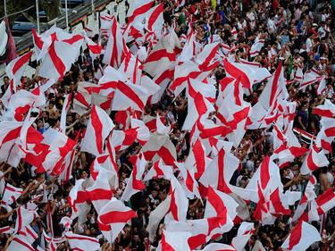 Ihr Verein steht unter Verdacht: Fans von Rayo Vallecano.