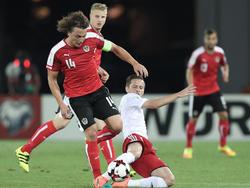 Georgien gegen Österreich