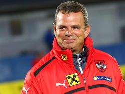 U19-Teamchef Manfred Zsak darf stolz auf seine Jungs sein