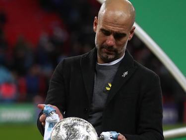 Pep Guardiola will die gelbe Schleife weiter tragen