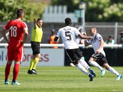 Die DFB-Youngster haben den ersten Sieg bei der EM eingefahren