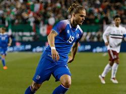 Die Isländer um Rurík Gíslason wollen auch bei der WM für Furore sorgen