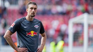 Fragezeichen in den Gesichtern - wer trainiert RB Leipzig in der kommenden Saison?