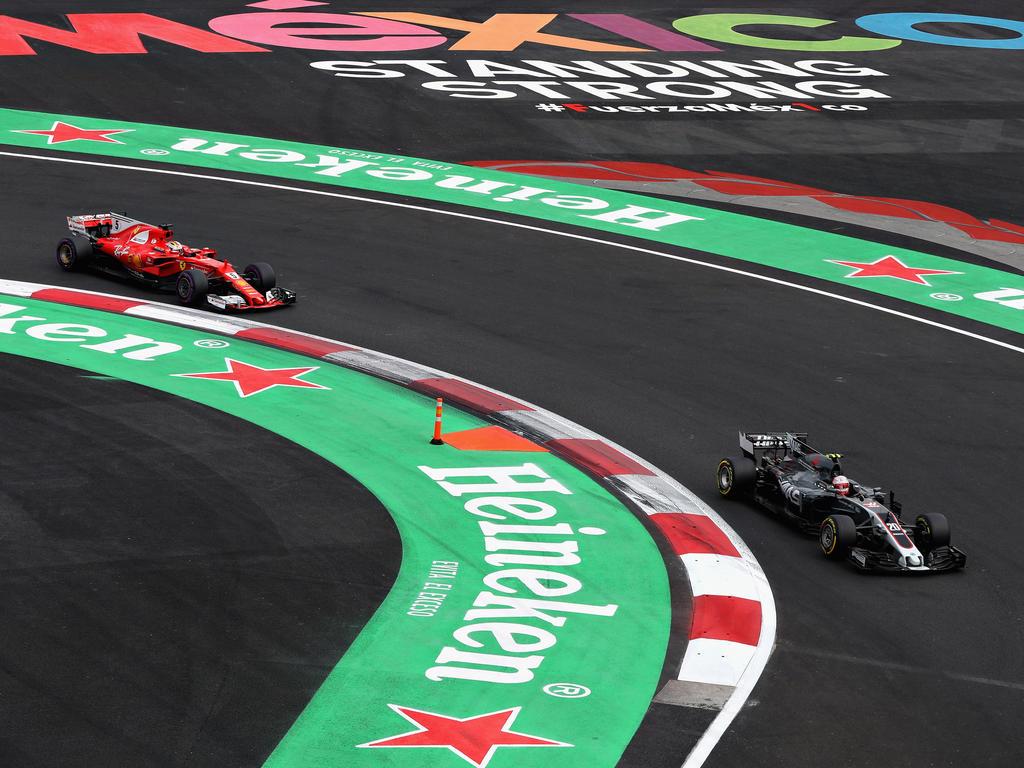 Kimi Räikkönen und Kevin Magnussen waren sich im Qualifying gar nicht grün