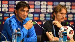 Zlatko Dalic (l.) brennt auf das WM-Finale