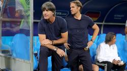 Thomas Schneider (r.) ist nicht mehr Co-Trainer des DFB-Teams