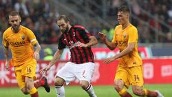 El Milan supo rehacerse en casa ante su público. (Foto: Getty)