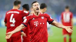Robert Lewandowski und der FC Bayern sind derzeit nicht zu stoppen
