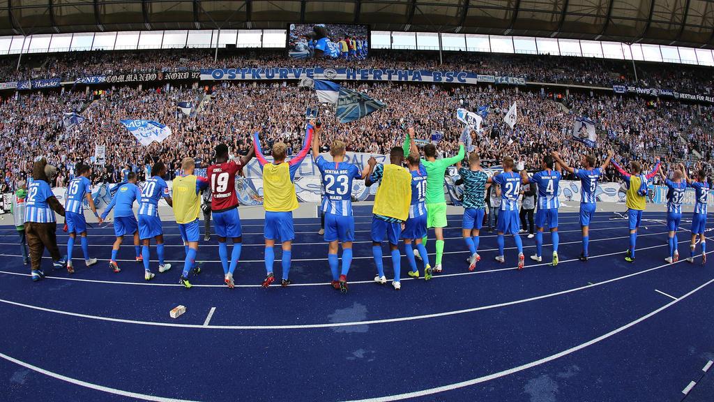 Heimspiel Hertha