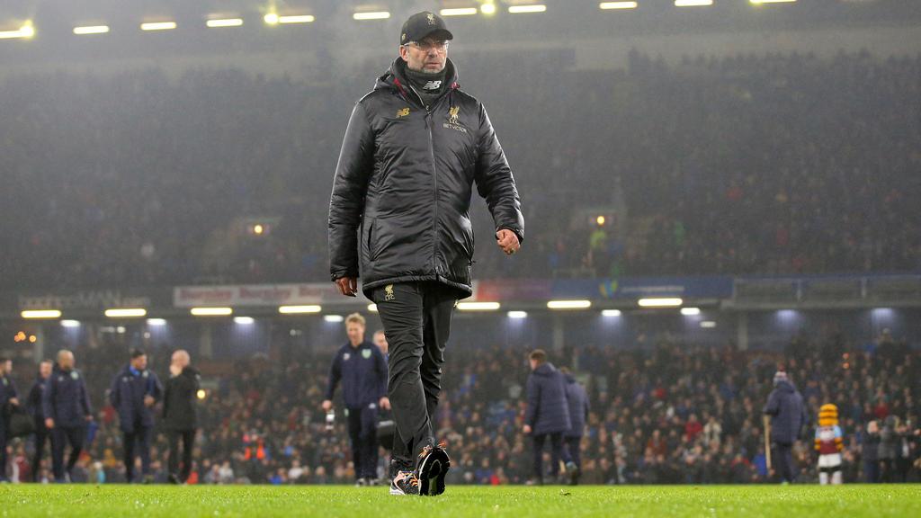 Jürgen Klopp und dem FC Liverpool droht in der Champions League das vorzeitige Aus