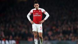 Verletzte sich gegen Chelsea schwer: Héctor Bellerín vom FC Arsenal