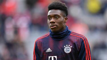 Alphonso Davies hat beim FC Bayern einen Vertrag bis 2023