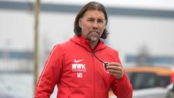 Martin Schmidt will mit dem FCA weiter punkten