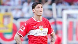 Steven Zuber ist ins Stuttgarter Mannschaftstraining zurückgekehrt