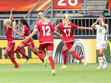 Las danesas son ya claras favoritas a todo en esta Euro. (Foto: Getty)
