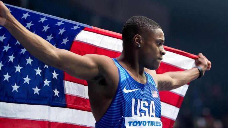 Droht offenbar eine Dopingsperre: Sprintstar Christian Coleman