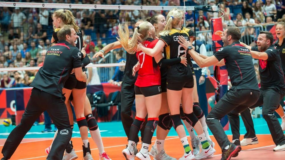 Das deutsche Team setzte sich überraschend gegen Russland durch