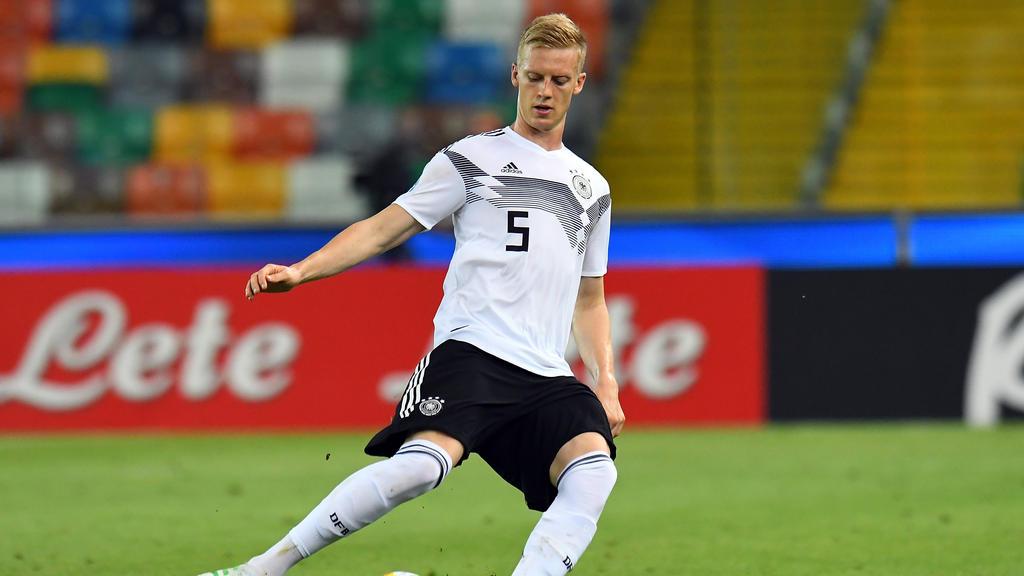 Timo Baumgartl nahm im Sommer an der U21-EM in Italien teil