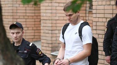 Aleksandr Kokorin ist wieder auf freiem Fuß