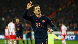Robert Lewandowski ist seit 2014 beim FC Bayern unter Vertrag