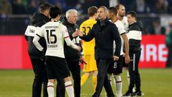 Eintracht Frankfurt holte aus den letzten fünf Bundesliga-Spielen nur einen Punkt