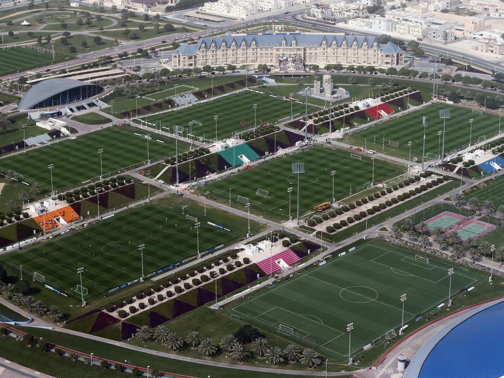 Red Bull Salzburg zieht es im Winter in die Aspire Academy nach Katar