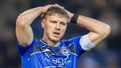 Will mit Arminia Bielefeld die Chance auf den Aufstieg nutzen: Torjäger Fabian Klos