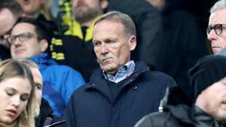 BVB-Geschäftsführer Hans-Joachim Watzke mit Spitze gegen PSG