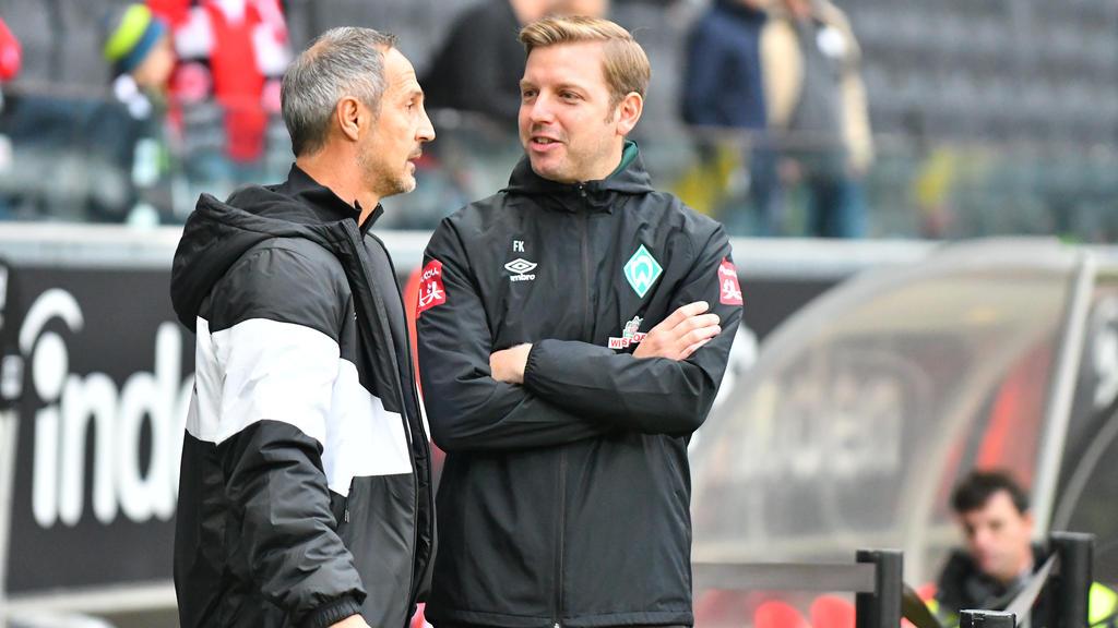 Werder Bremen und Eintracht Frankfurt treffen auch im DFB-Pokal aufeinander