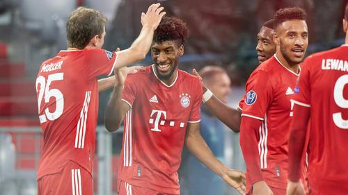 Der FC Bayern setzte sich souverän gegen Atlético Madrid durch