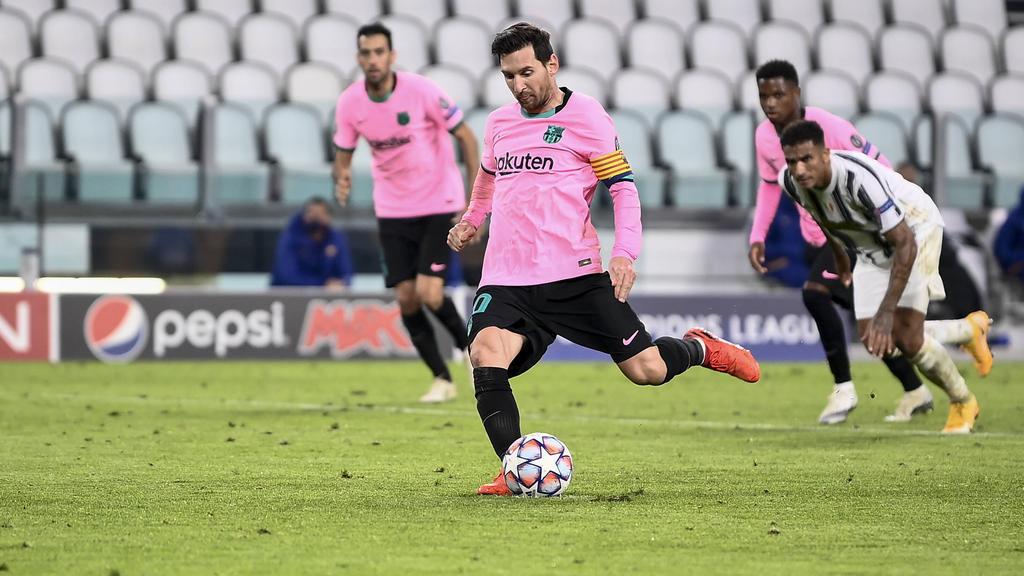 Lionel Messi war bei Barcas Sieg der Mann des Abends