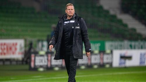 Trainer Markus Gisdol sitzt beim 1. FC Köln nicht mehr fest im Sattel
