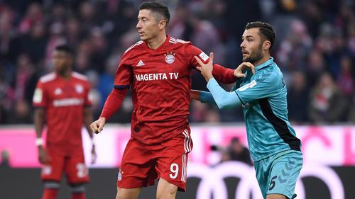 Lewandowski und Gulde (r.) treffen zum wiederholten Male aufeinander