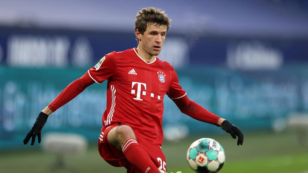 Thomas Müller könnte gegen den BVB wieder im Trikot des FC Bayern spielen