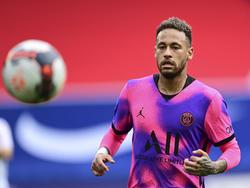 Neymar tiene entre ceja y ceja el objetivo de pasar a la final de Champions.