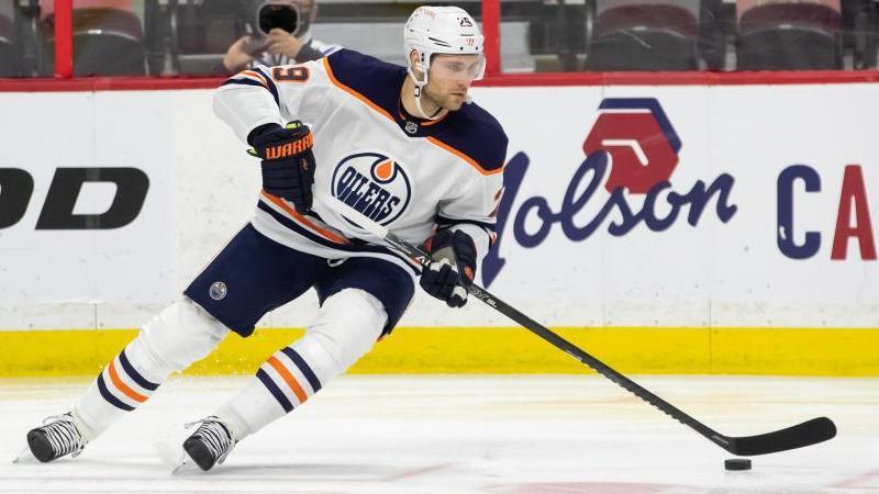 Leon Draisaitl steht mit den Edmonton Oilers in den NHL-Playoffs