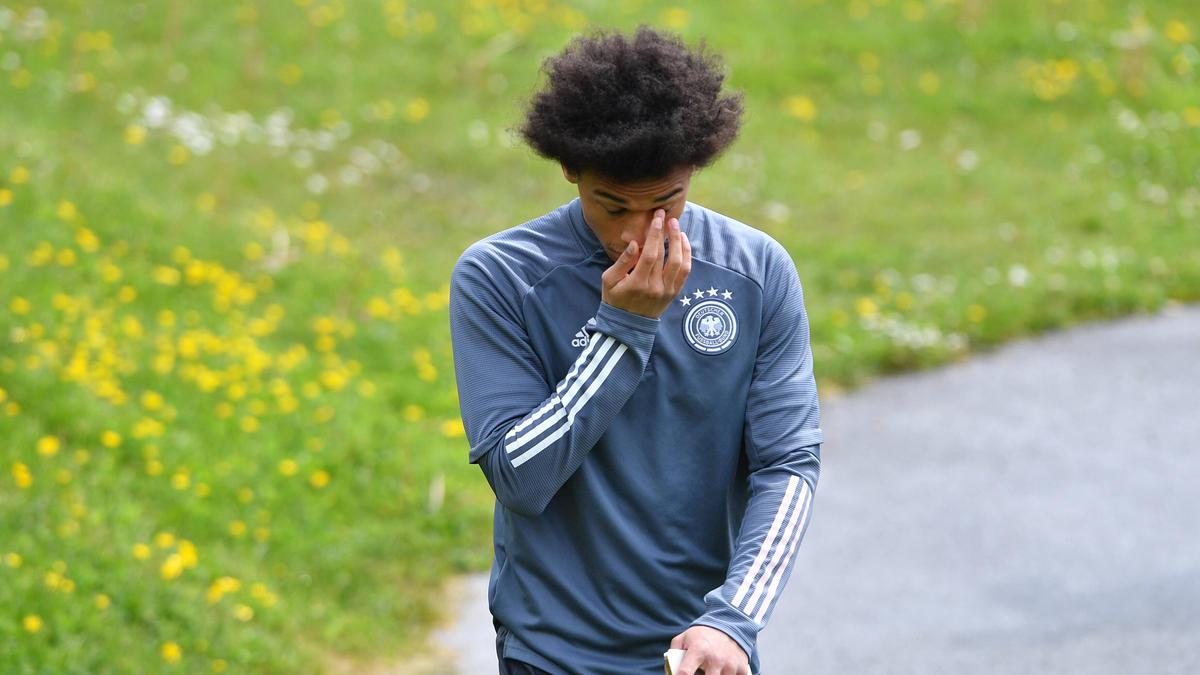 Leroy Sané vom FC Bayern muss sich einmal mehr Kritik gefallen lassen