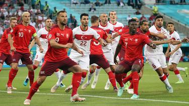 Die Schweiz setzte sich gegen die Türkei durch