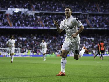 James Rodríguez gelang das 1:0 gegen Almeria