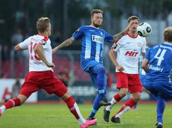 Fortuna schlägt Magdeburg vom Punkt