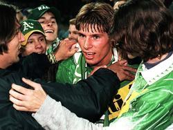 Marcus Pürk, einer von Rapids Cuphelden des Jahres 1995