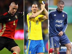 Nainggolan, Ibrahimović und Icardi wurden nicht nominiert. © Getty Images, imago