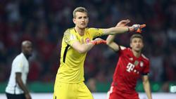 Lukás Hrádecky gewann letzte Saison mit Eintracht Frankfurt den DFB-Pokal