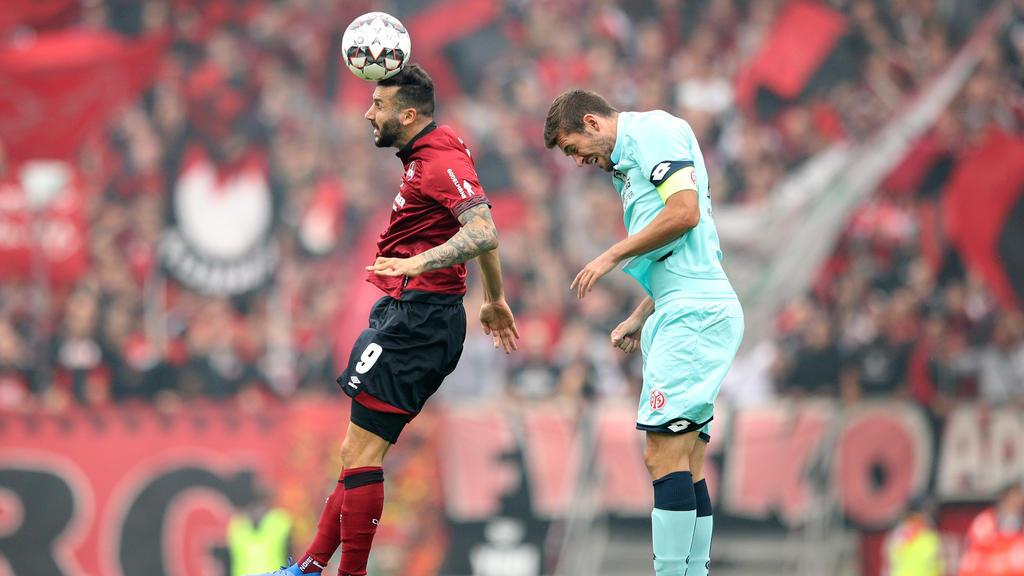Mikael Ishak (l.) erzielte den Treffer für den Club
