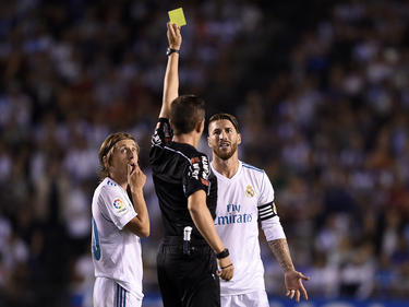 Sergio Ramos tiene fama de ver muchas tarjetas amarillas. (Foto: Getty)