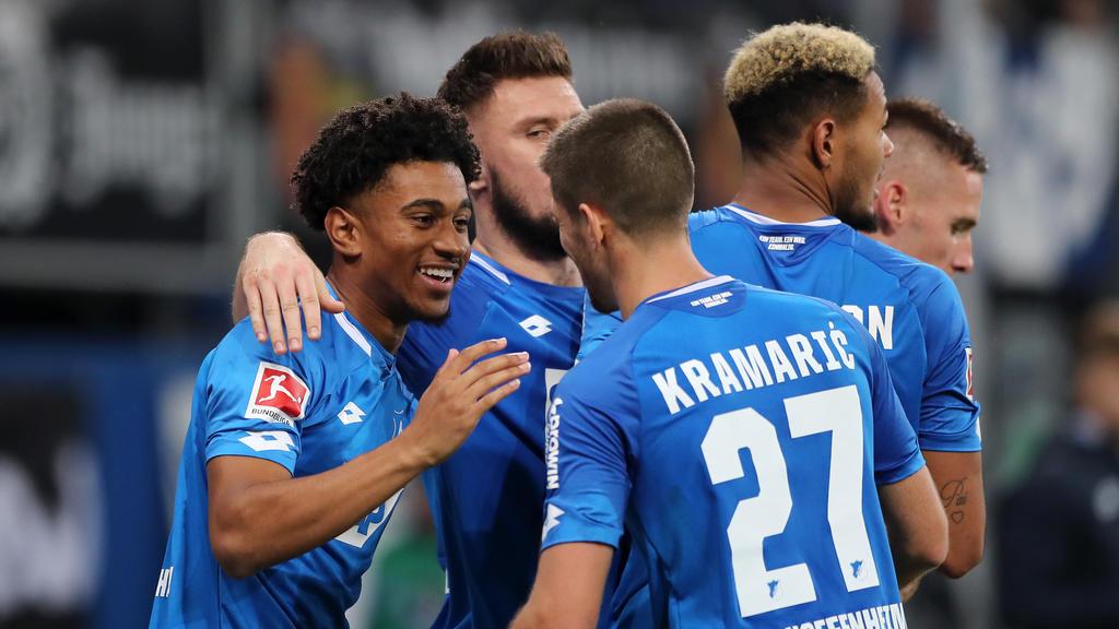 Die TSG Hoffenheim siegte zum vierten Mal in Folge