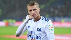 Jann-Fiete Arp hat beim HSV noch einen Vertrag bis 2020