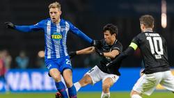 Hertha BSC und der FC Augsburg trennten sich Remis