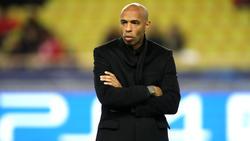 Thierry Henry ist nicht mehr Coach der AS Monaco