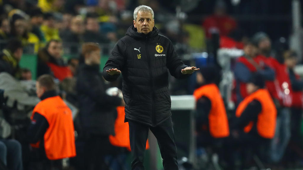 Lucien Favre äußert sich vor dem Spiel gegen den 1. FC Nürnberg zur Lage des BVB